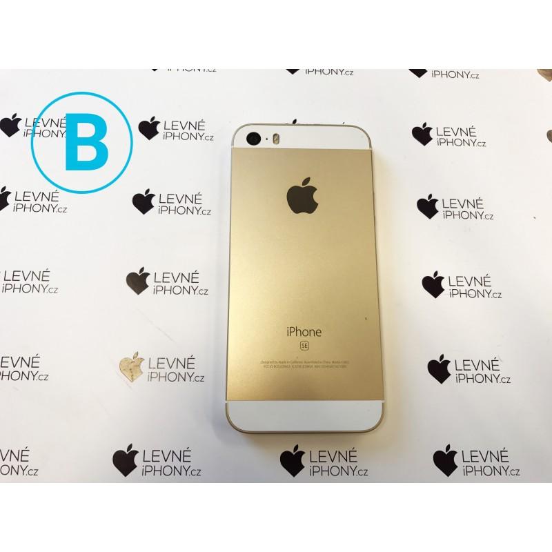 Apple iPhone SE 32GB Gold - LevneiPhony.cz 32308e95681