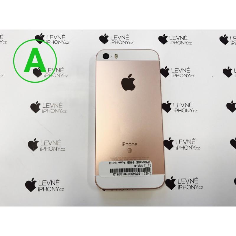 Apple iPhone SE 32GB Rose Gold - LevneiPhony.cz fa063a89cae