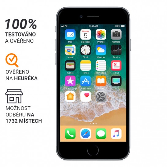 iPhone 6 32GB Stříbrná