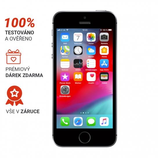 iPhone 5s 16GB Stříbrná