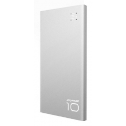 Powerbank iMyMax P10 10000mAh stříbrná