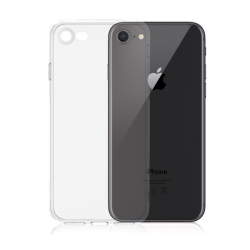 Transparentní silikonový kryt iPhone 7/8