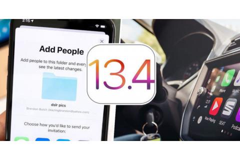 Novinky v iOS 13.4