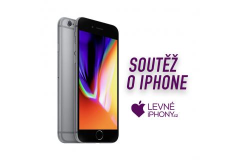 SOUTĚŽ o iPhone 6S 32GB Space Grey v hodnotě 5 899 Kč a další ceny